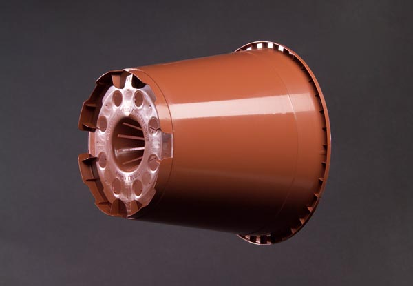 19 cm Potmodel Zuurstofconus