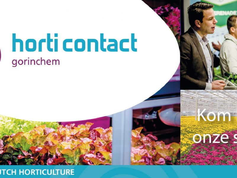 Dit jaar staan wij op de HortiContact beurs in Gorinchem, zien wij je daar?