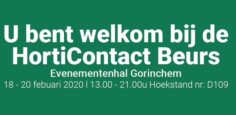 HortiContact Beurs 2020
